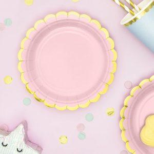 feestartikelen-bordjes-pastel-roze