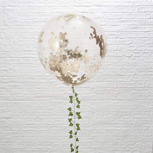 mega-ballon-confetti-rosegoud