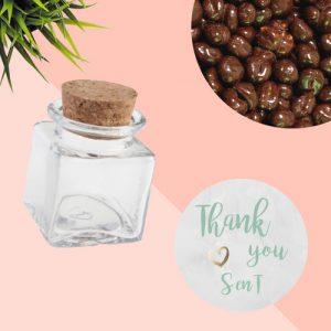 bedankjes-bruiloft-glazen-potje-chocolade