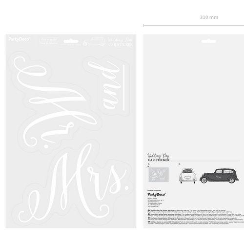 bruiloft-decoratie-autosticker-mr-mrs-3