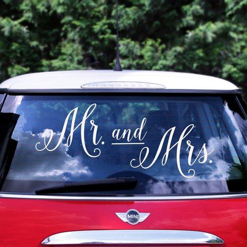 bruiloft-decoratie-autosticker-mr-mrs
