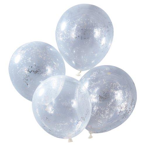 bruiloft-decoratie-confetti-ballonnen-silver-glitter-star-christmas-night-3