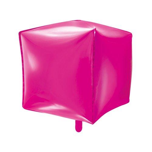 bruiloft-decoratie-folieballon-cubic-fuchsia-2