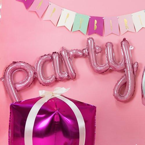bruiloft-decoratie-folieballon-party-roze