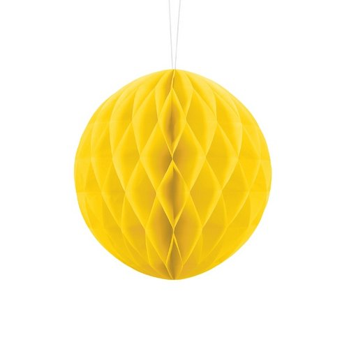 bruiloft-decoratie-honeycomb-geel-20cm