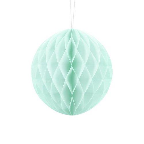 bruiloft-decoratie-honeycomb-mint-20cm