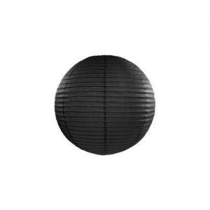 bruiloft-decoratie-lampion-zwart-20-cm