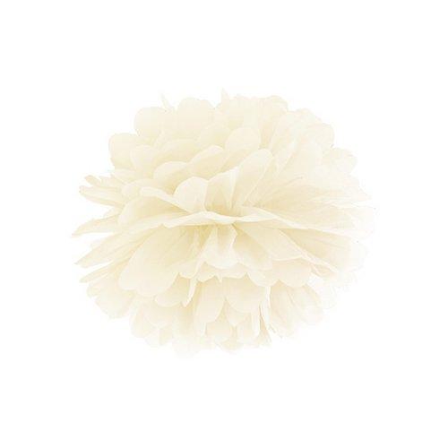 bruiloft-decoratie-pompom-ivoor-25cm