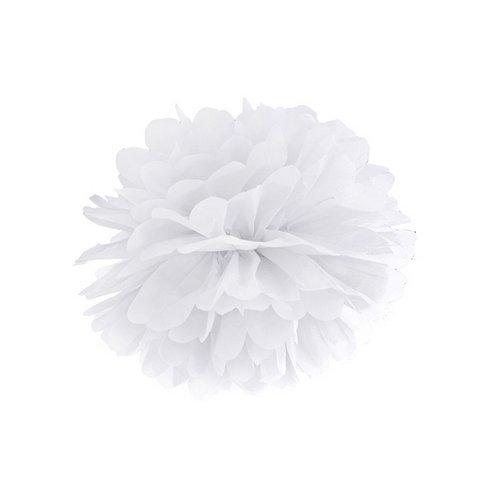 bruiloft-decoratie-pompom-wit-25cm