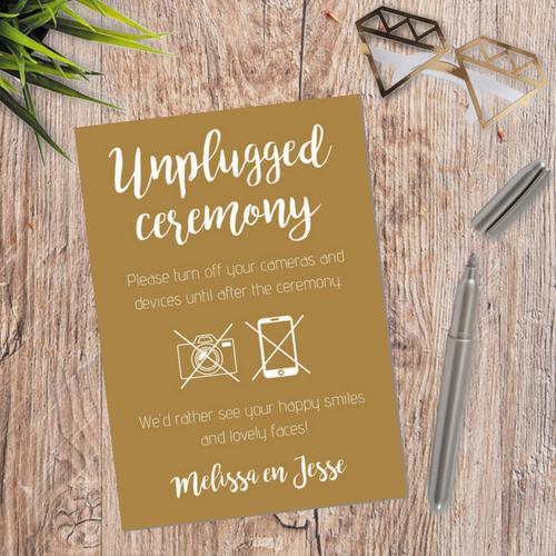 bruiloft-decoratie-poster-unplugged-ceremony-kraft (2)