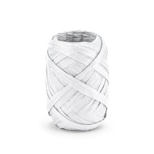 bruiloft-decoratie-raffia-lint-wit-10m