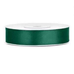 bruiloft-decoratie-satijnlint-donker-groen-12mm