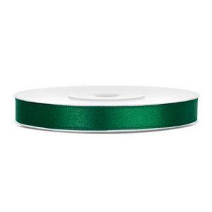 bruiloft-decoratie-satijnlint-donker-groen-6mm