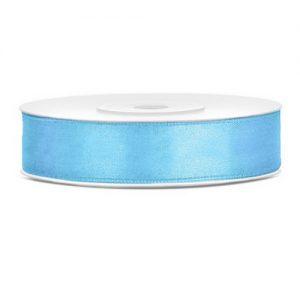 bruiloft-decoratie-satijnlint-licht-blauw-12mm