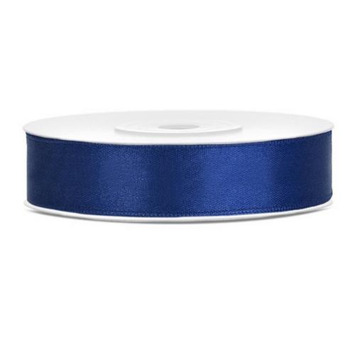 bruiloft-decoratie-satijnlint-navy-blauw-12mm