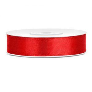 bruiloft-decoratie-satijnlint-rood-12mm