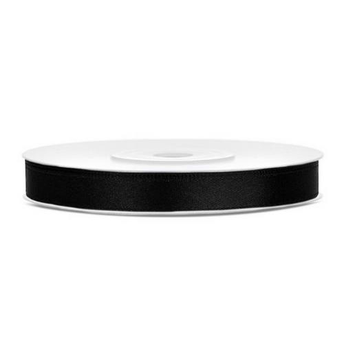 bruiloft-decoratie-satijnlint-zwart-6mm