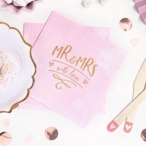 bruiloft-decoratie-servetten-mr-mrs-with-love
