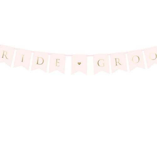 bruiloft-decoratie-slinger-bride-groom-powder-pink
