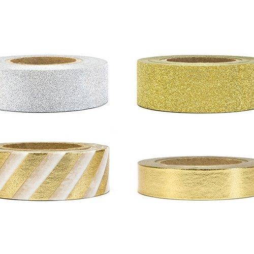 bruiloft-decoratie-washi-tape-gold-silver-2