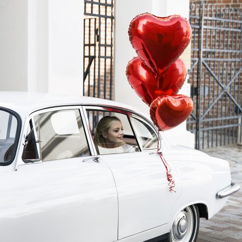 folieballon-hart-rood