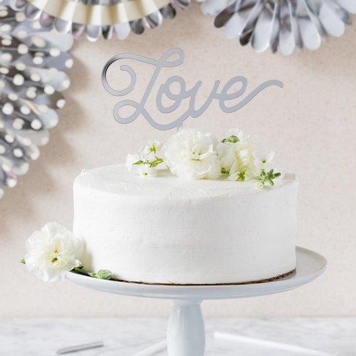 bruiloft-decoratie-acryl-cake-topper-love-zilver-2