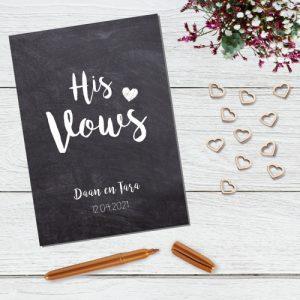 bruiloft-decoratie-geloften-blad-his-vows-krijt