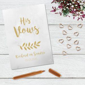 bruiloft-decoratie-geloften-blad-his-vows-marble