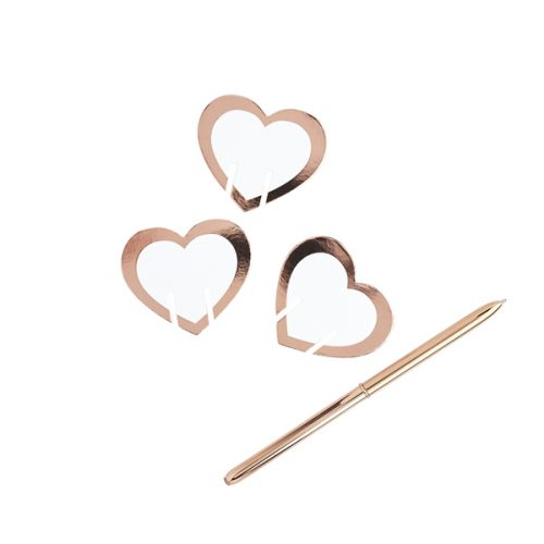 bruiloft-decoratie-glas-markers-heart-rose-gold
