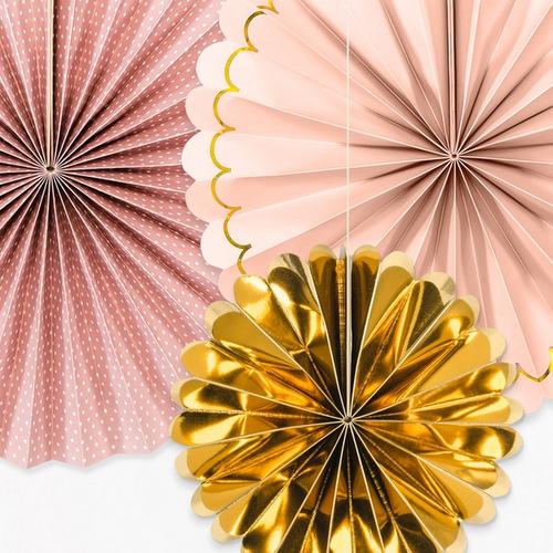 bruiloft-decoratie-paper-fans-blush-gold-2