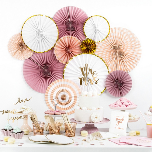 bruiloft-decoratie-paper-fans-blush-gold-3
