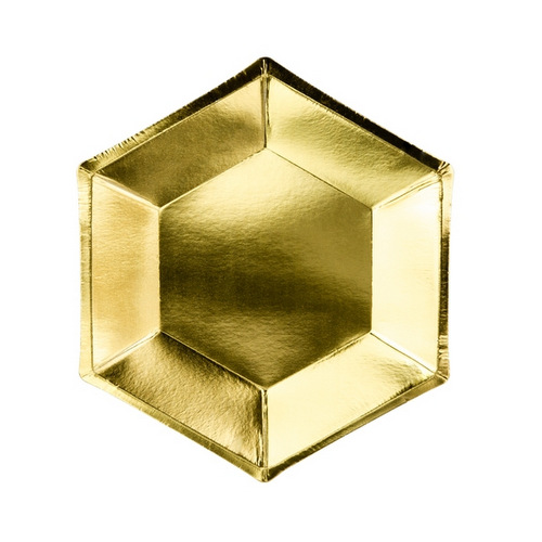 bruiloft-decoratie-papieren-bordjes-metallic-gold