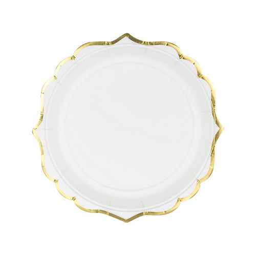 bruiloft-decoratie-papieren-bordjes-white-metallic-gold