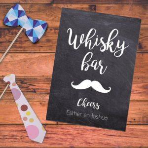 bruiloft-decoratie-poster-whisky-bar-krijt (1)