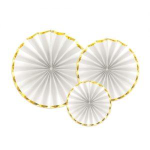 feestartikelen-paper-fans-white-gold