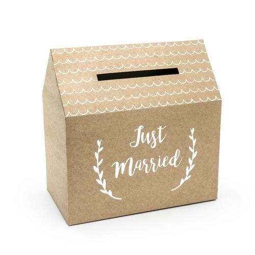 bruiloft-decoratie-enveloppendoos-just-married-kraft-001