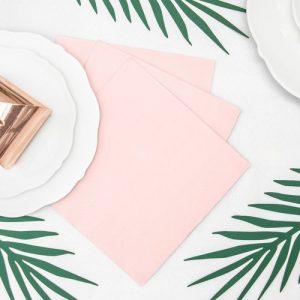 bruiloft-decoratie-servetten-light-powder-pink-2