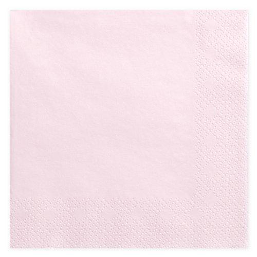 bruiloft-decoratie-servetten-light-powder-pink