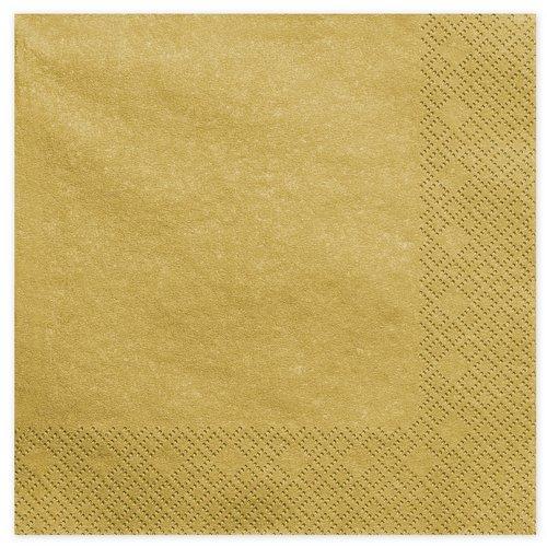 bruiloft-decoratie-servetten-metallic-gold