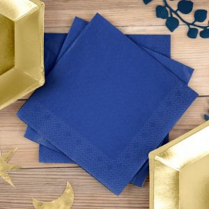 bruiloft-decoratie-servetten-navy-blue-2