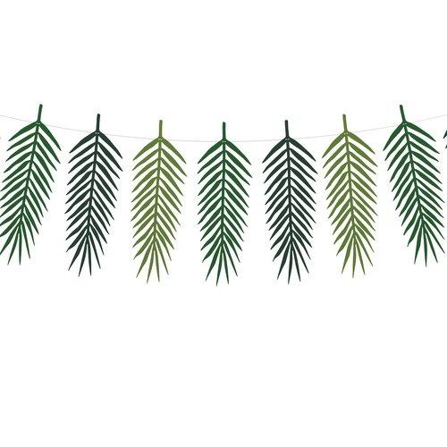 bruiloft-decoratie-slinger-tropical-leaves