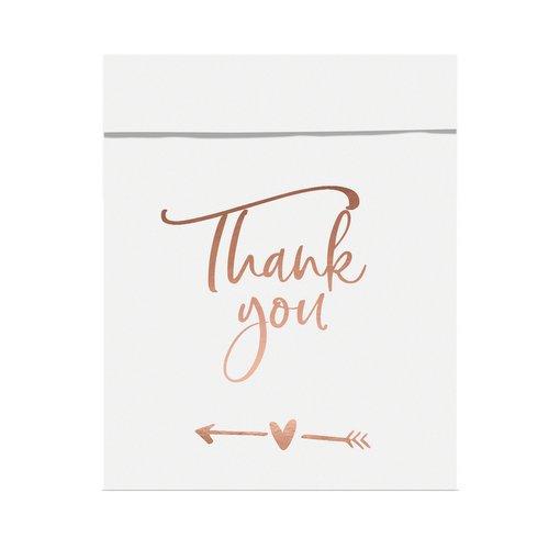 bruiloft-decoratie-snoepzakjes-thank-you-rose-gold