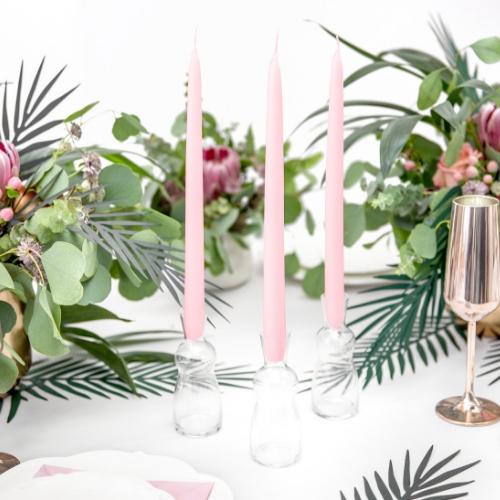 dinerkaarsen-roze