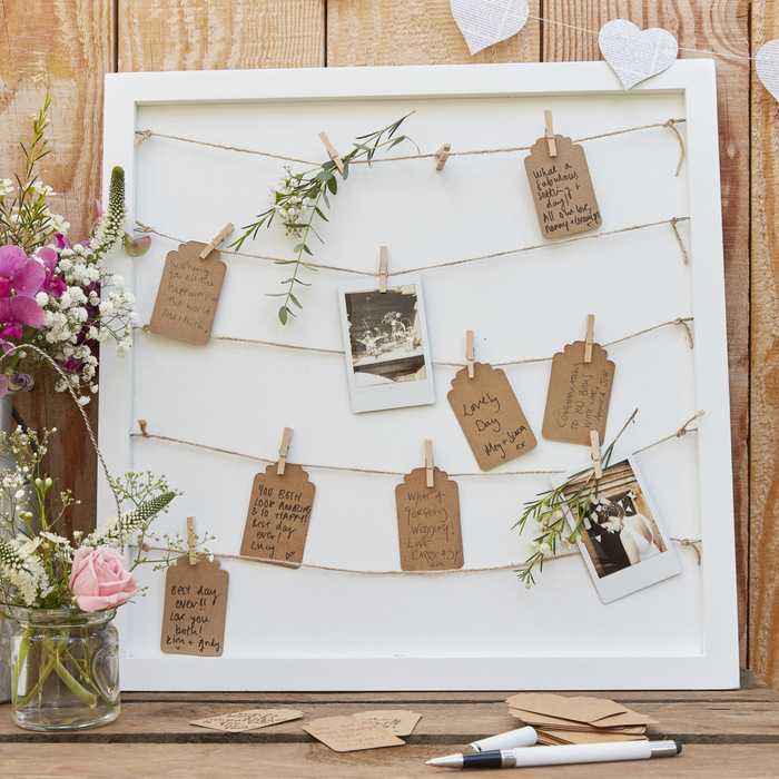 bruiloft gastenboek alternatief