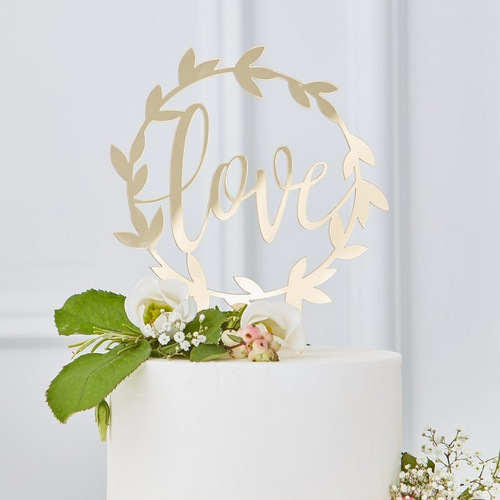 bruiloft-decoratie-acryl-cake-topper-love-gold-wedding (1)