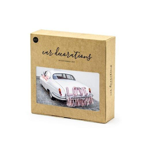 bruiloft-decoratie-autodecoratie-kit-love-rosegoud-3
