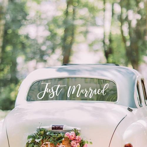 bruiloft-decoratie-autosticker-just-married-gold-wedding (2)