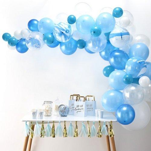 bruiloft-decoratie-ballonnenboog-blue (3)