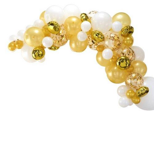 bruiloft-decoratie-ballonnenboog-gold (4)