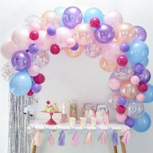 bruiloft-decoratie-ballonnenboog-pastel (3)